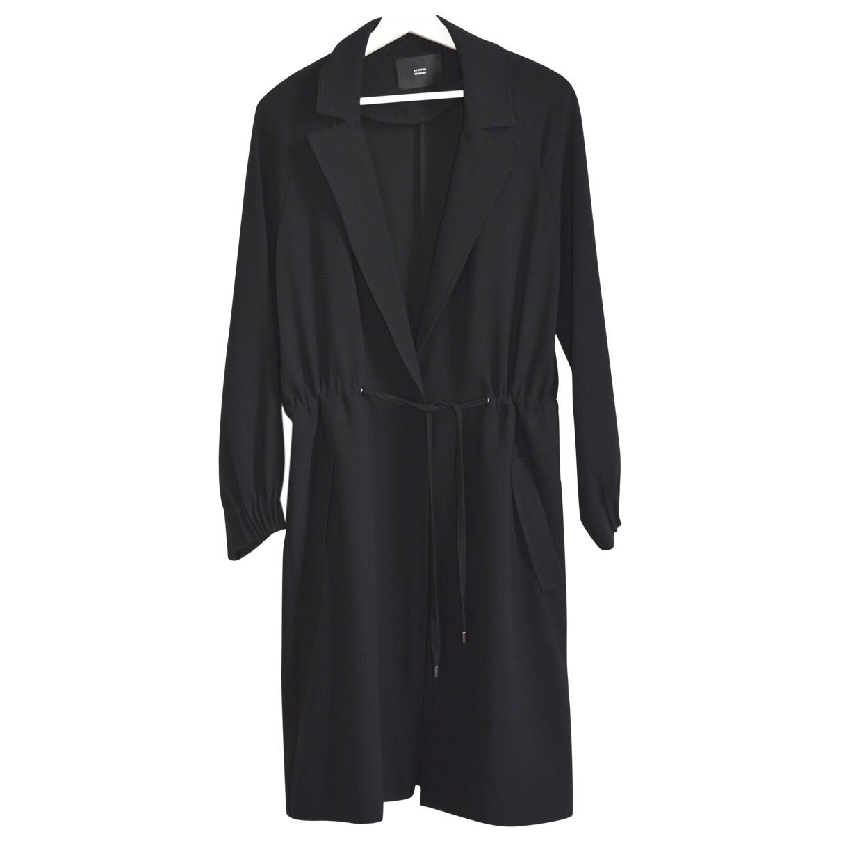 Steffen Schraut \N Black coat for Women M International