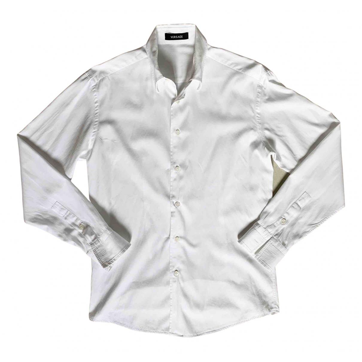 Versace N White Cotton Shirts for Men S International
