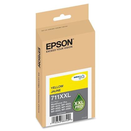 Epson 711XXL T711XXL420 Original Pigment Yellow Ink Cartridge