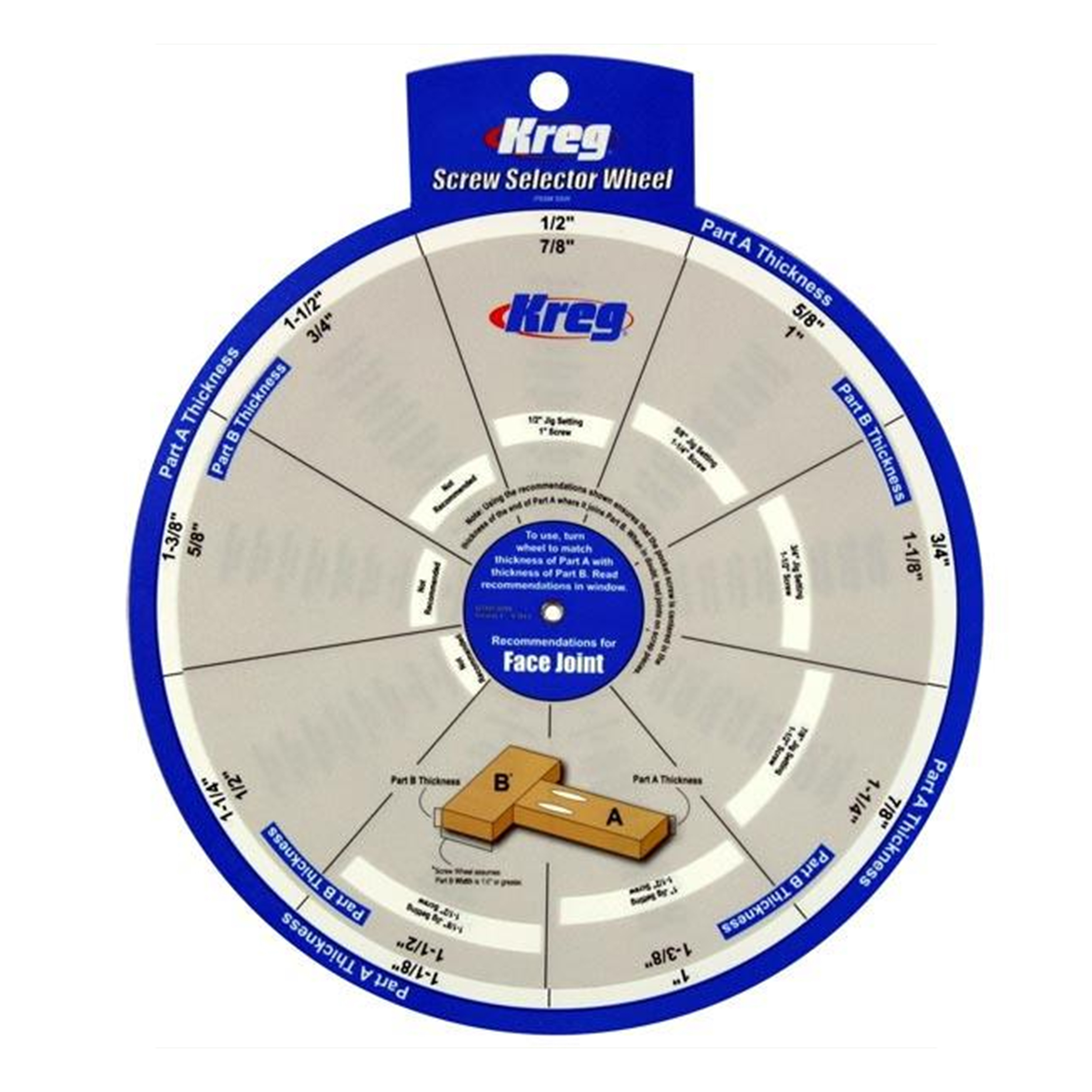 Screw Selector Setting Wheel, # SSW