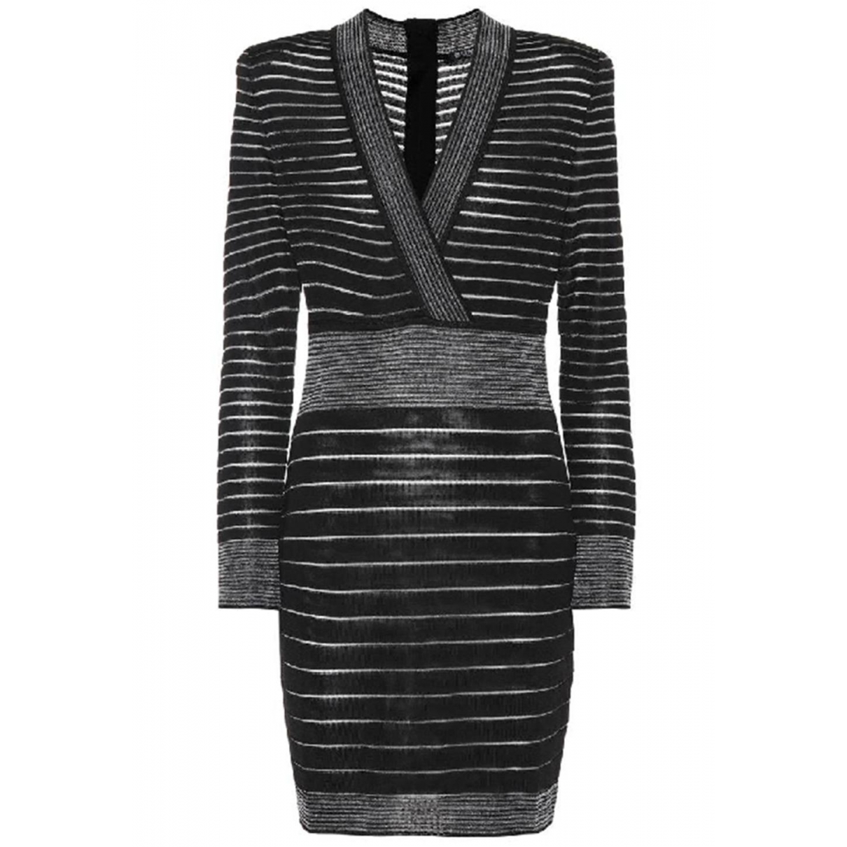 Balmain \N Black dress for Women 40 FR