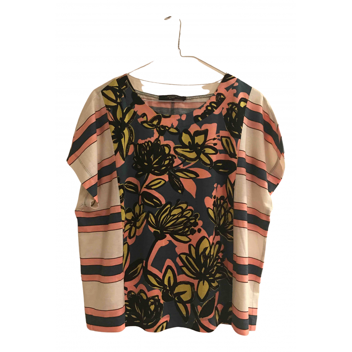 Max Mara Weekend N Multicolour Cotton  top for Women 46 IT
