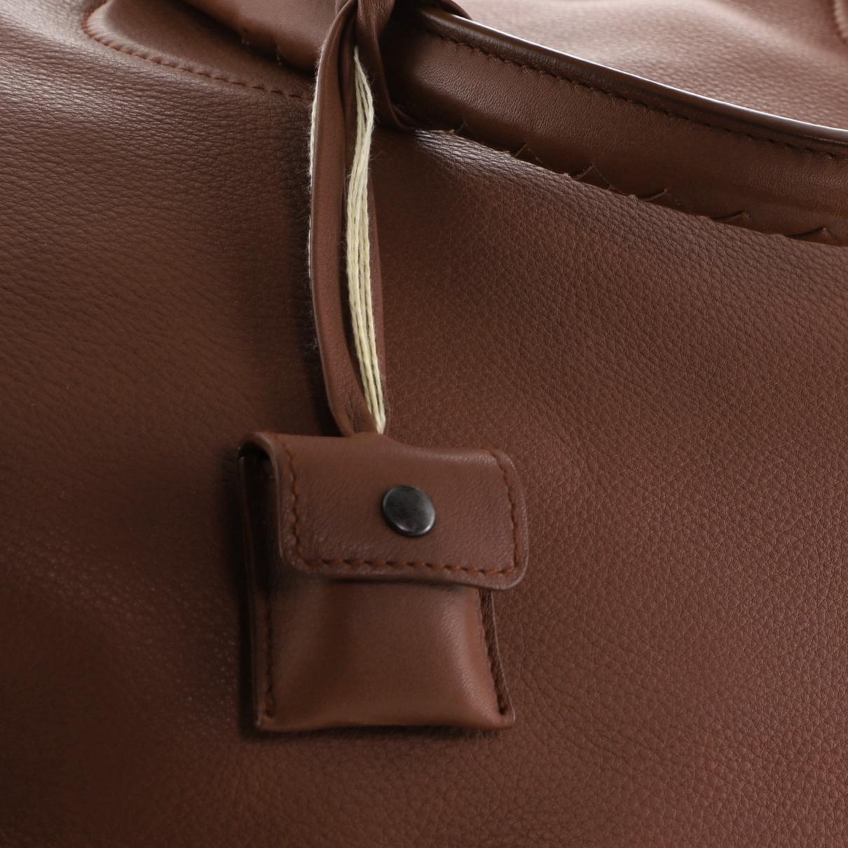 Bottega Veneta - Sac a main   pour femme en cuir - marron