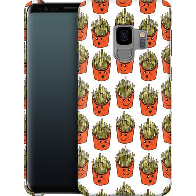 Samsung Galaxy S9 Smartphone Huelle - Happy Fries  von caseable Designs