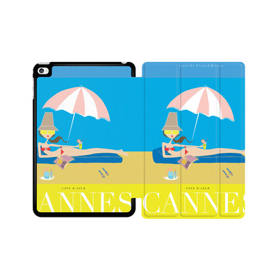 Apple iPad mini 4 Tablet Smart Case - CANNES TRAVEL POSTER von IRMA