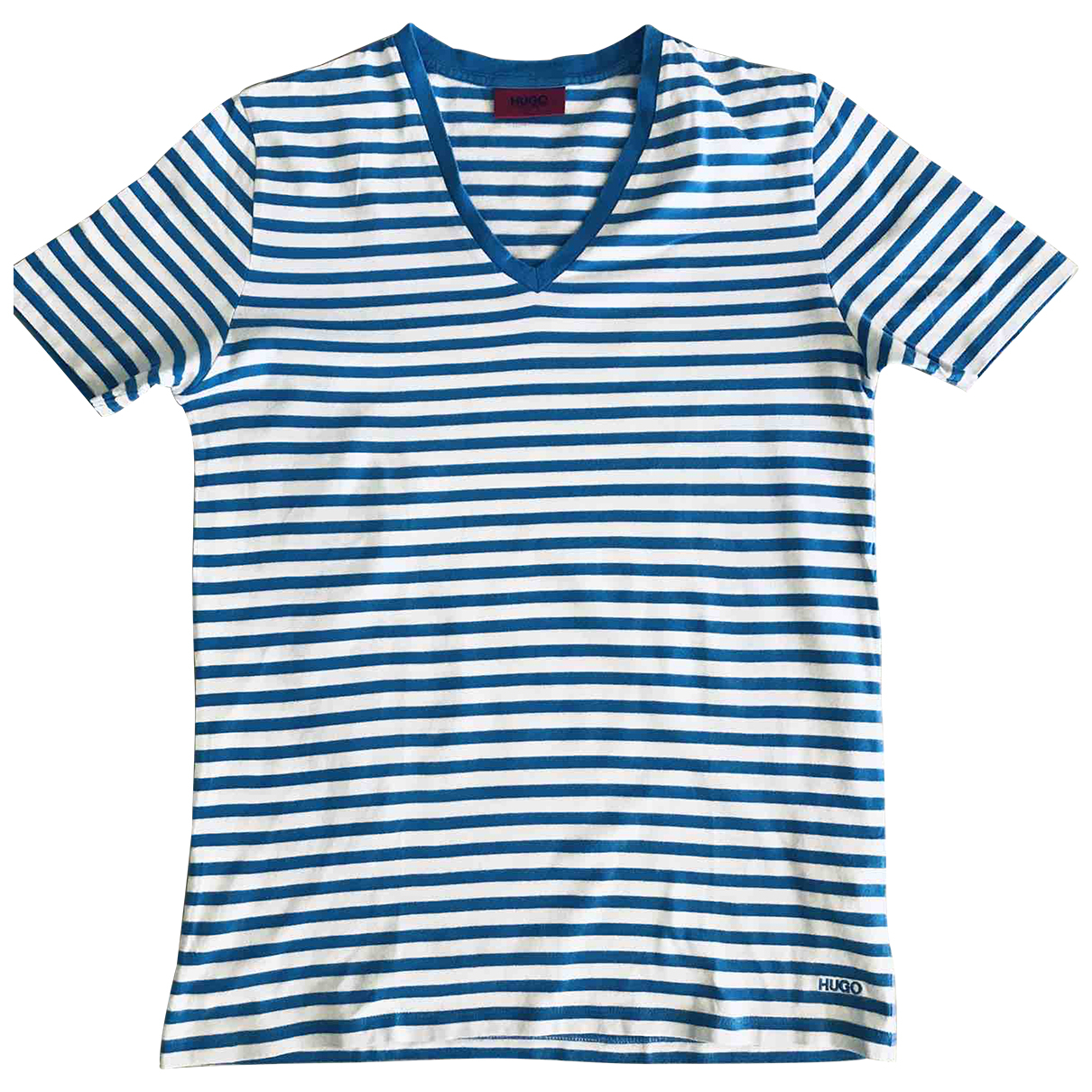 Hugo Boss \N Blue Cotton T-shirts for Men S International