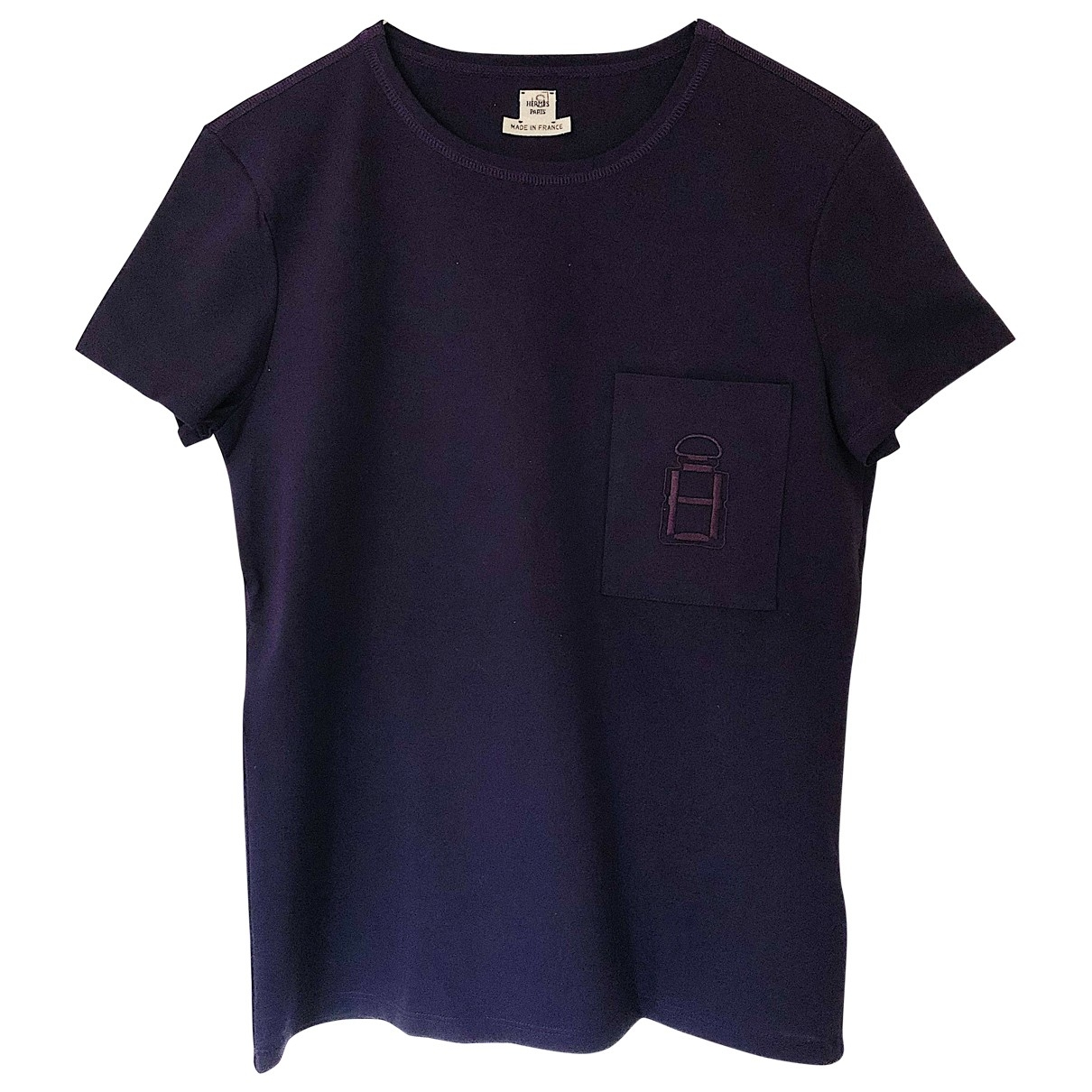 Hermes \N Top in  Lila Polyester
