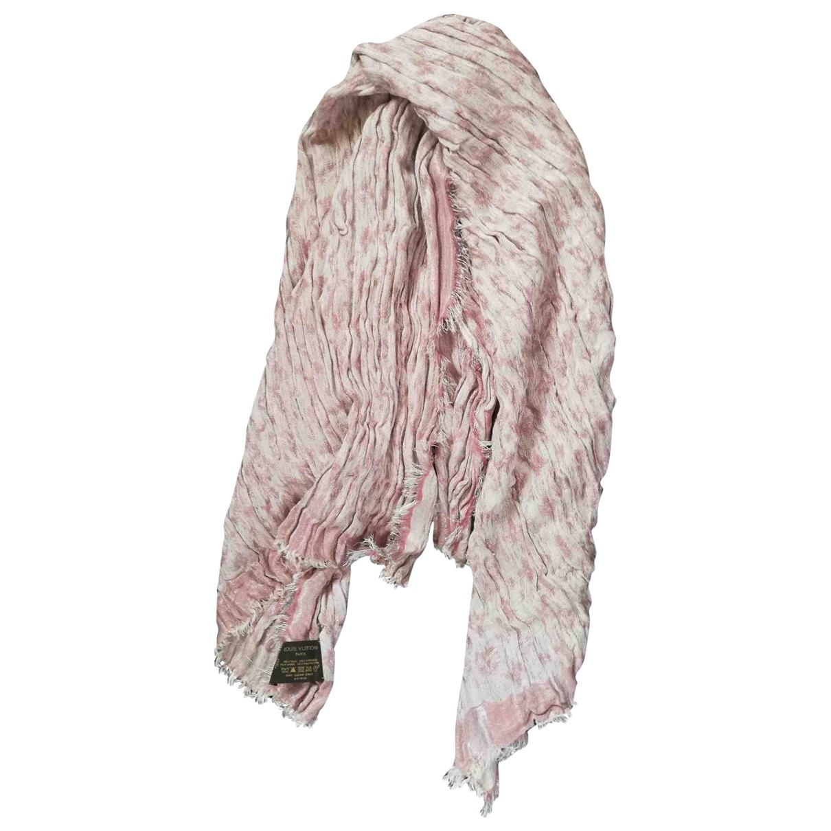 Louis Vuitton \N Pink Silk scarf for Women \N