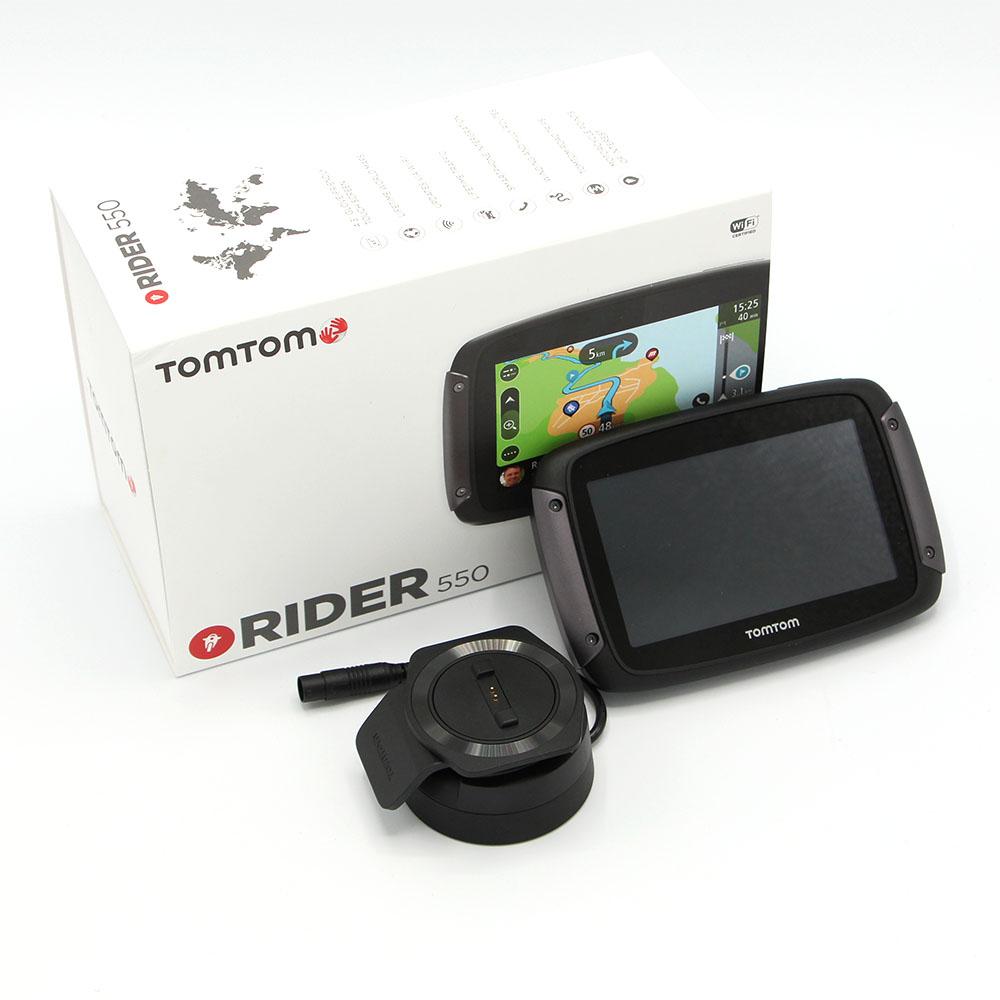 TomTom Rider 550 Paquete Premium Sistema De Navegacion