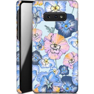 Samsung Galaxy S10e Smartphone Huelle - Pretty Pansy von Stephanie Breeze