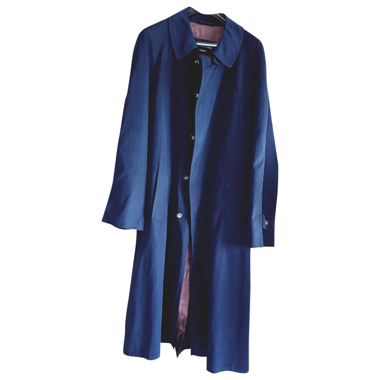 Emilio Pucci \N Maentel in  Blau Polyester
