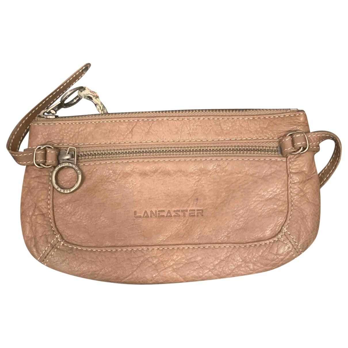 Lancaster \N Leather Purses, wallet & cases for Women \N