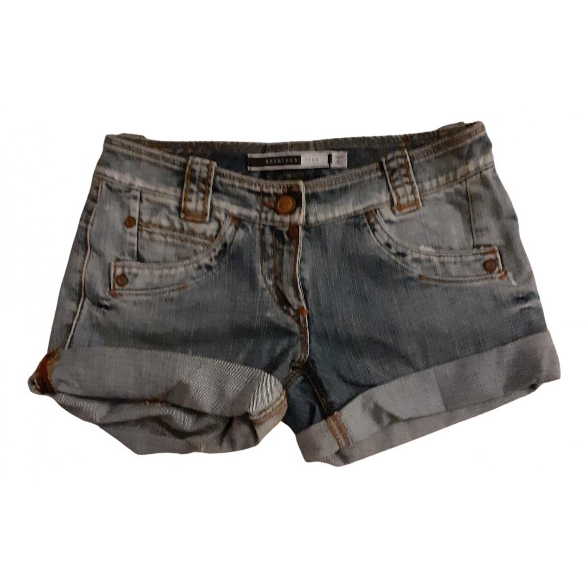 Sport Max \N Shorts in  Blau Baumwolle