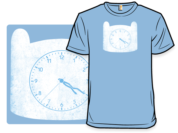 Adventure Clock T Shirt