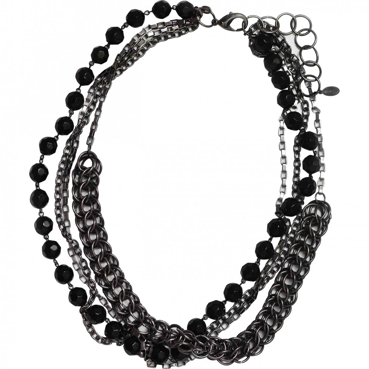 Marella \N Black Metal necklace for Women \N