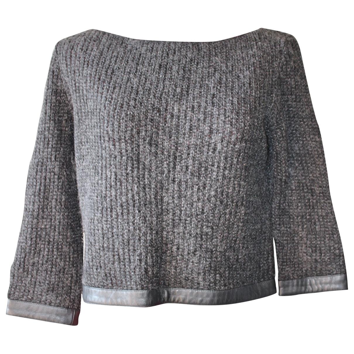 Badgley Mischka - Pull   pour femme en laine - noir