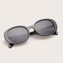 Gafas de sol de hombres de marco acrilico