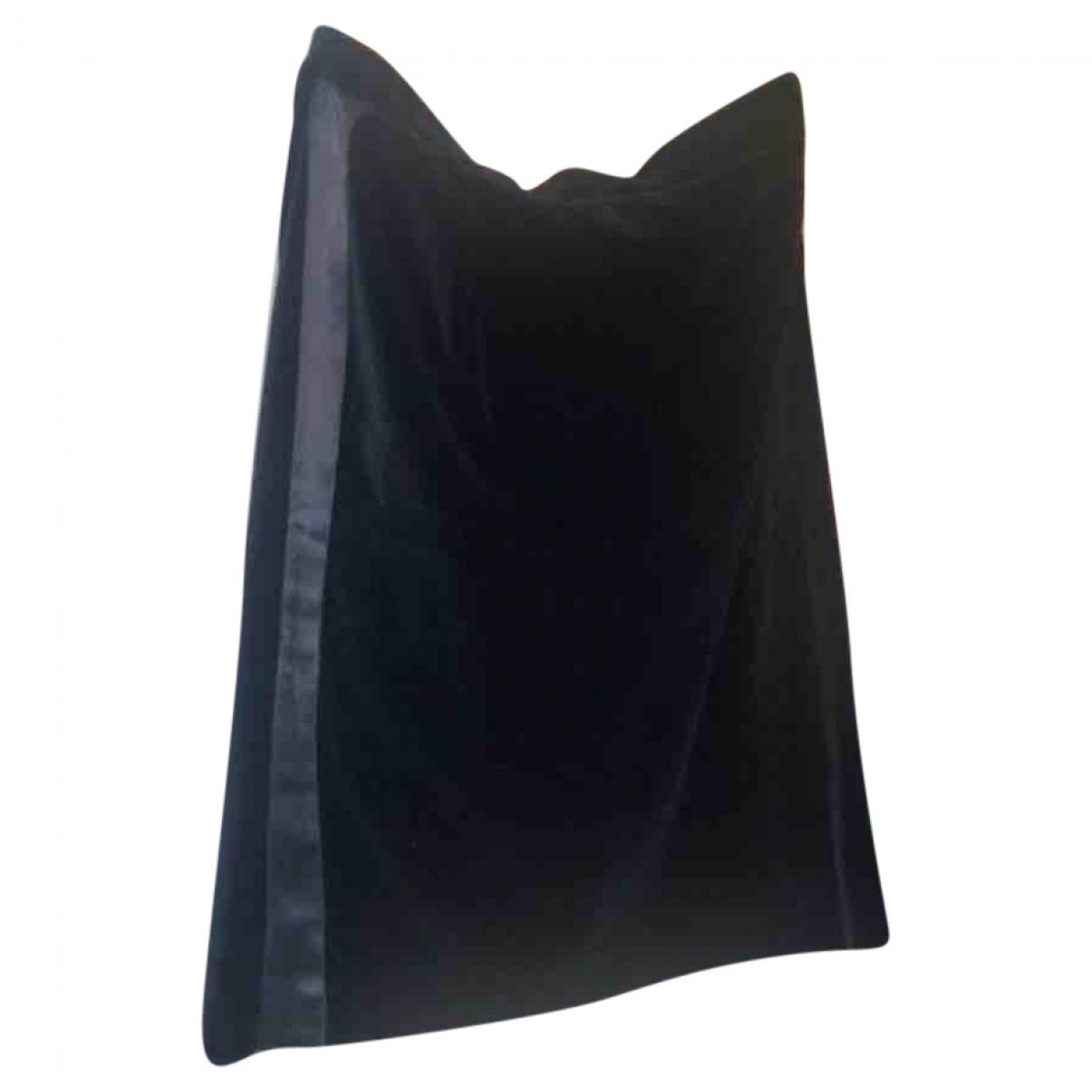 Givenchy \N Black Velvet skirt for Women 44 FR
