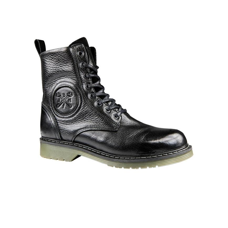 John Doe Sixty Chaussures De Moto Noir 40