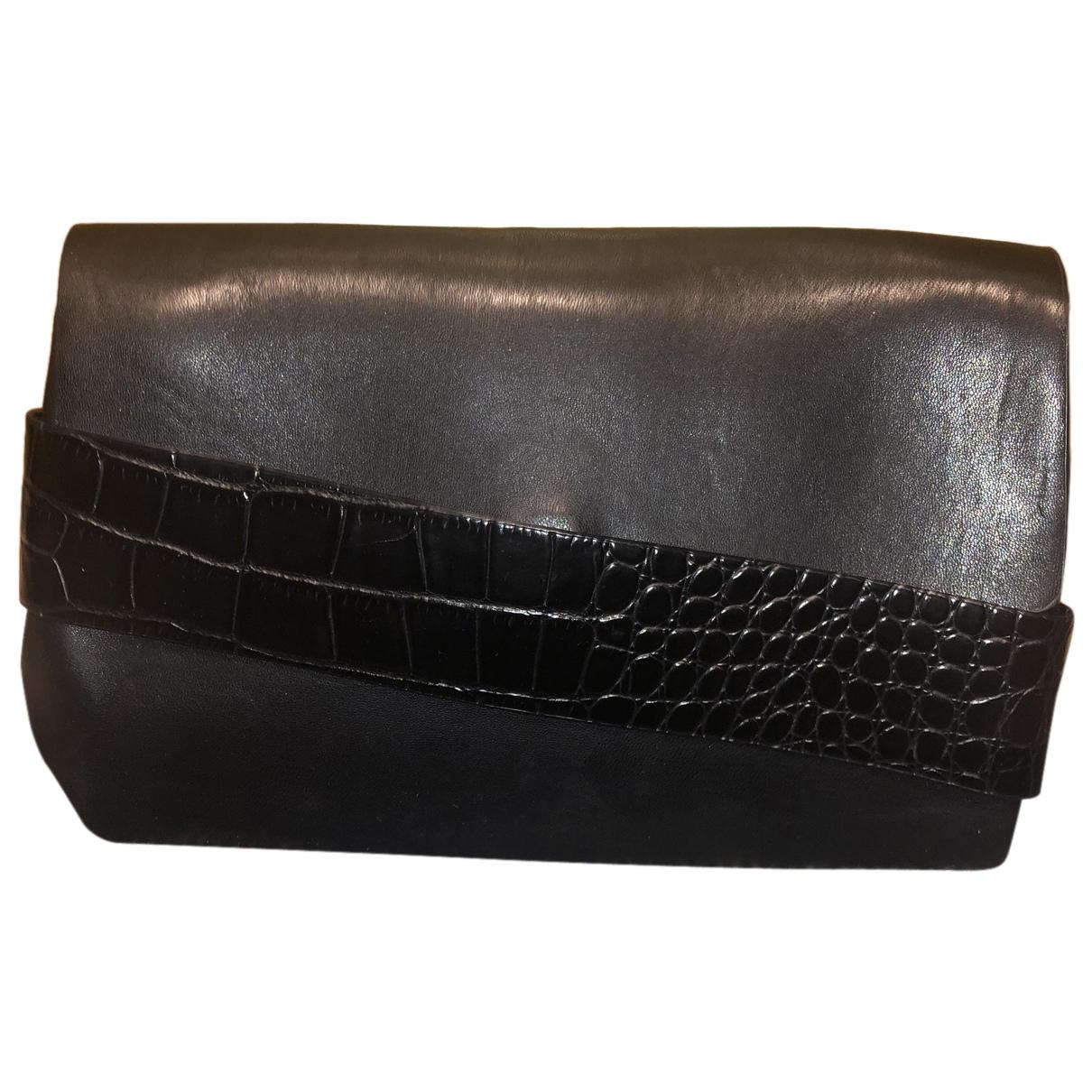 Zara \N Clutch in  Schwarz Polyester