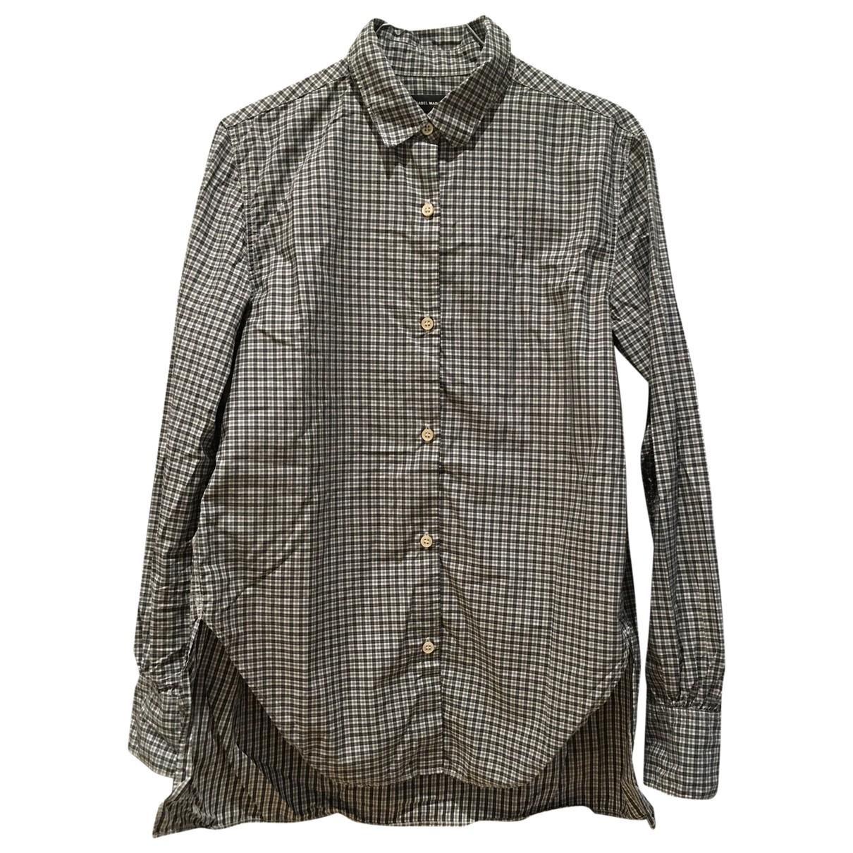 Isabel Marant \N Grey Cotton  top for Women 38 FR
