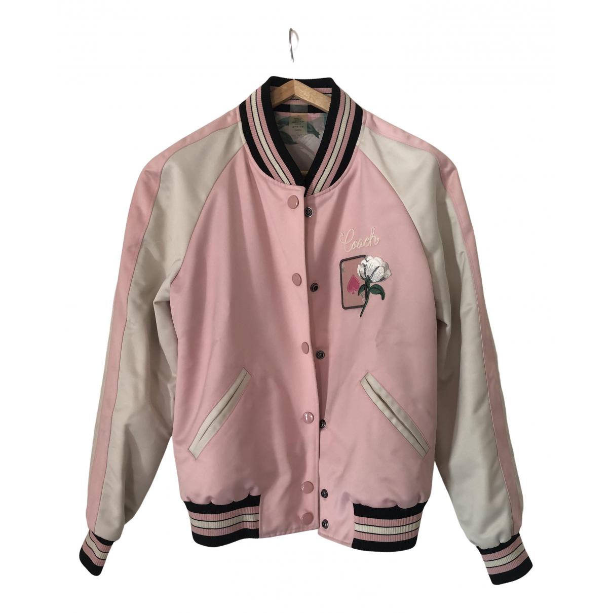Coach - Blouson   pour femme - rose