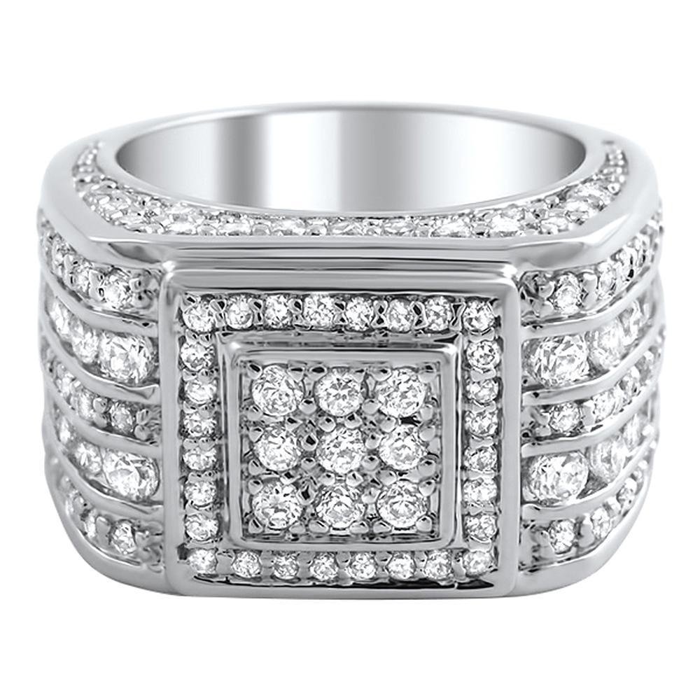 Godfather Custom CZ Bling Bling Ring
