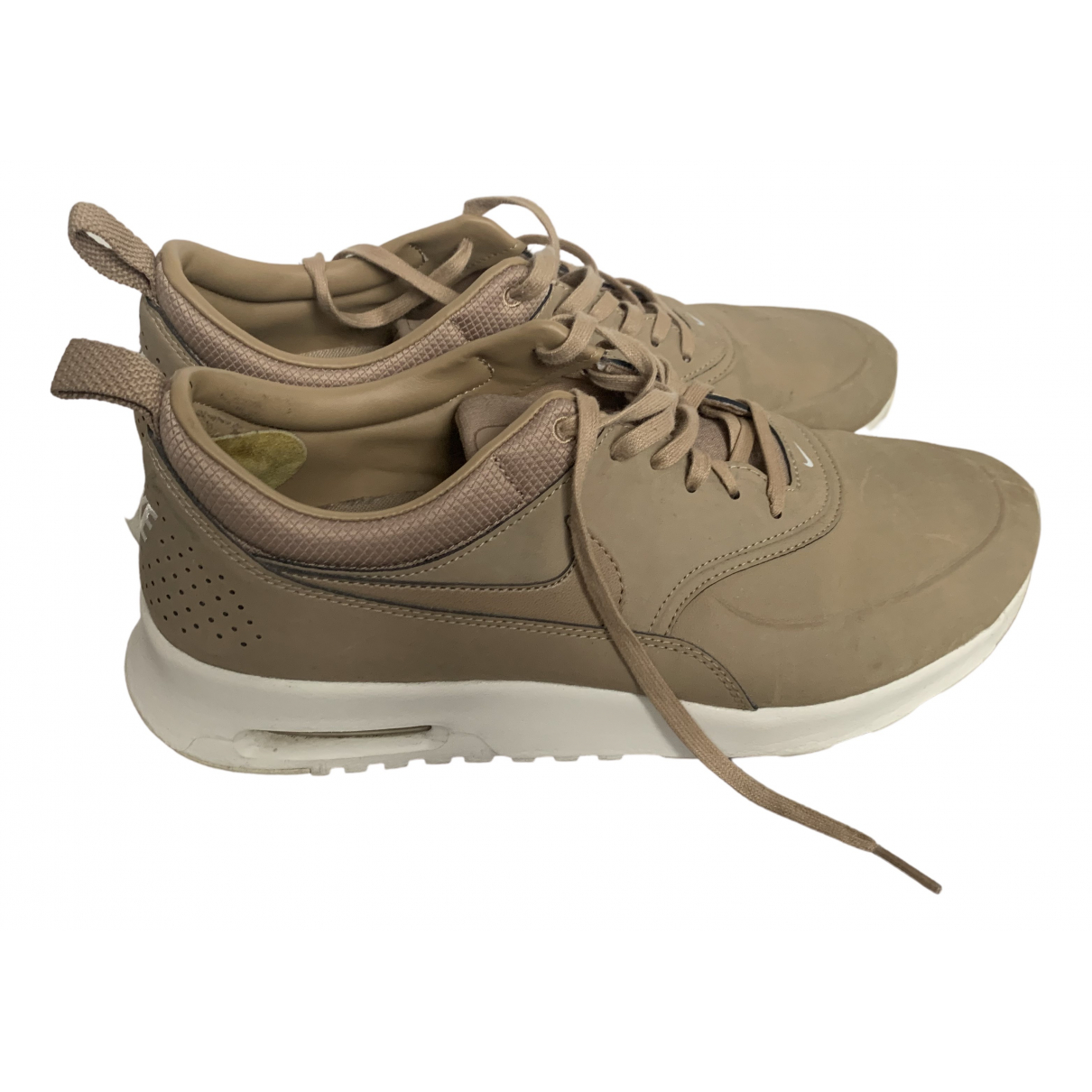 Nike Air Max  Sneakers in  Beige Leder