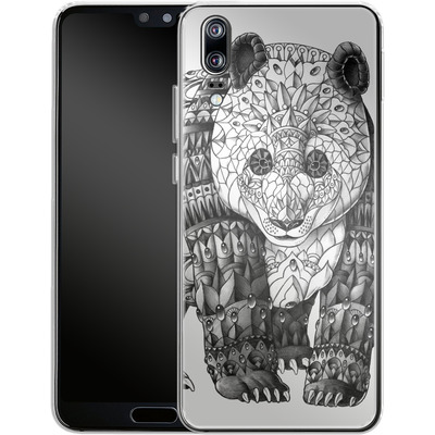 Huawei P20 Silikon Handyhuelle - Panda von BIOWORKZ