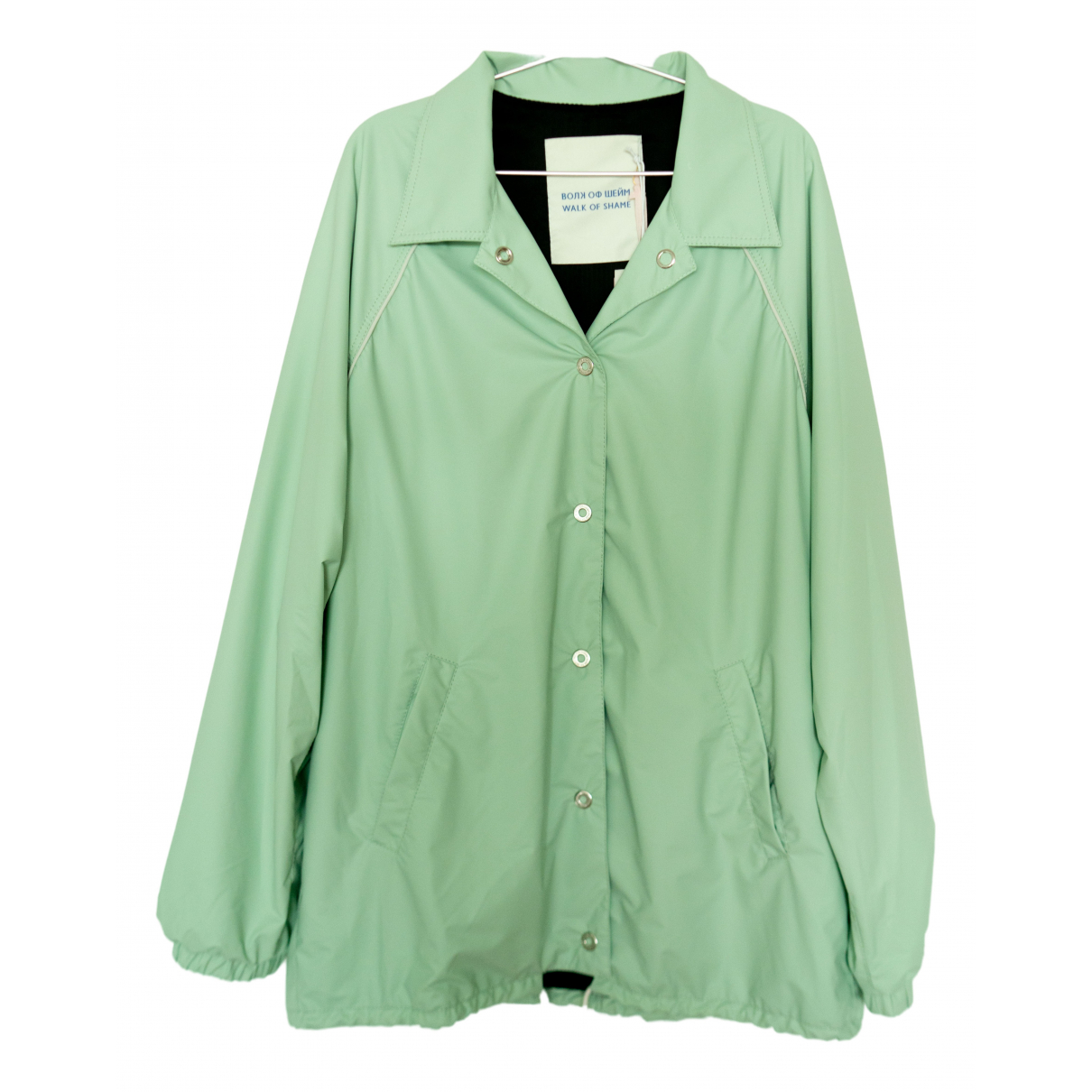Walk Of Shame \N Green jacket for Women 40 IT