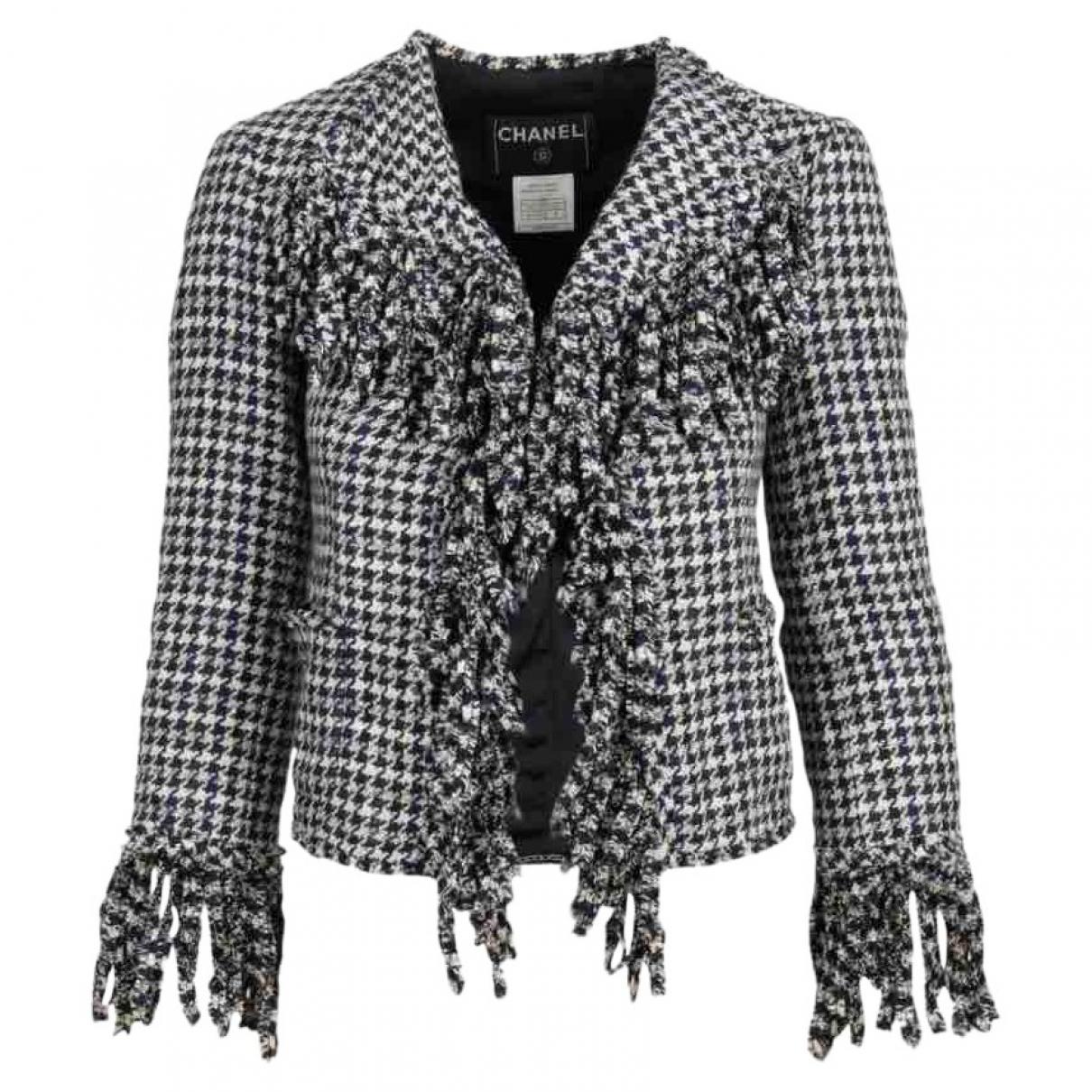 Chanel - Veste   pour femme en soie - multicolore