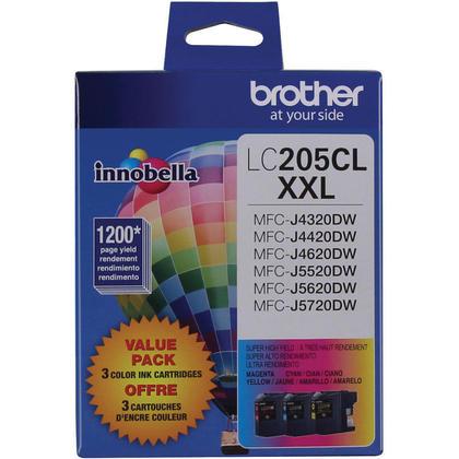 Brother MFC-J4420DW originale couleur cartouches encre cyan/magenta/jaune ensemble de 3 paquet, tres haut rendement