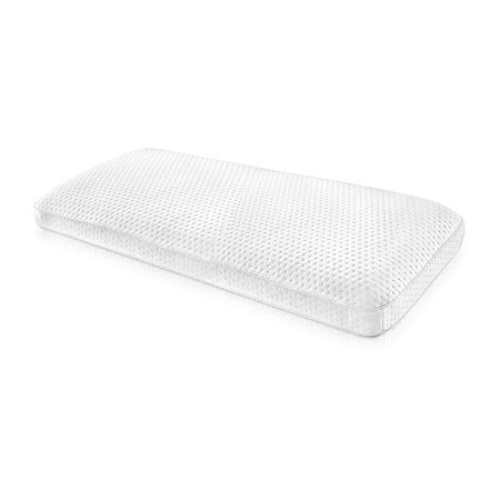 SensorPEDIC Luxury Extraordinaire Gusseted Memory Foam Bed Pillow, One Size , White