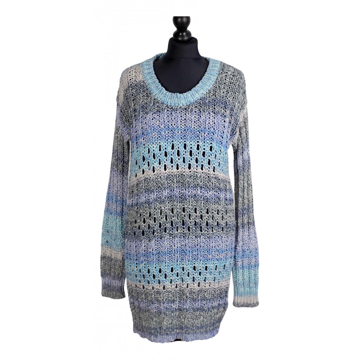 Matthew Williamson \N Kleid in  Blau Baumwolle