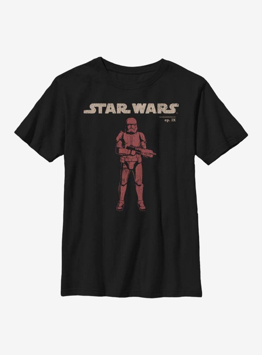 Star Wars Episode IX The Rise Of Skywalker Vigilant Youth T-Shirt