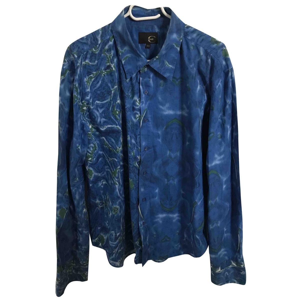 Just Cavalli \N Hemden in  Blau Baumwolle