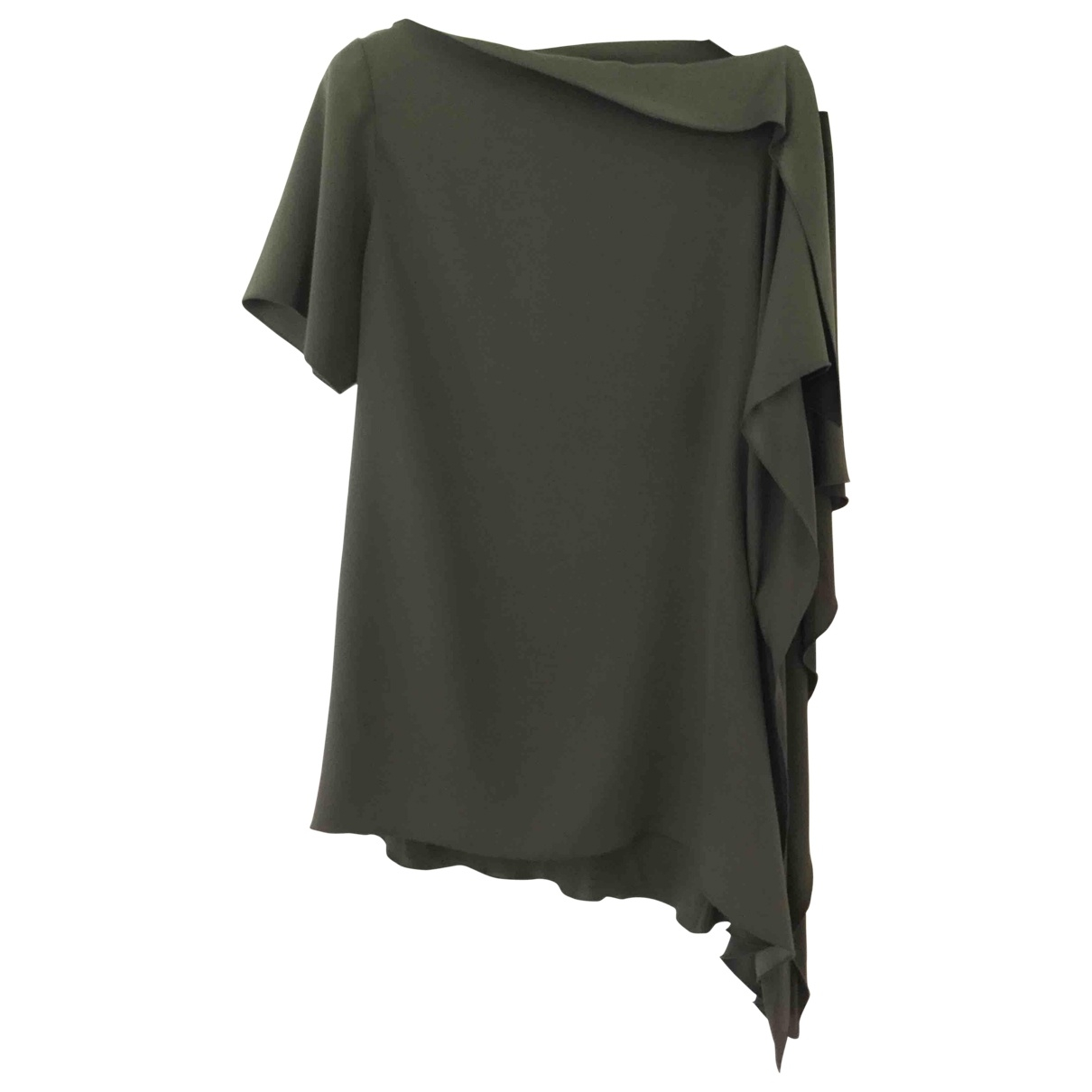 Amanda Wakeley \N Green Silk  top for Women 14 UK