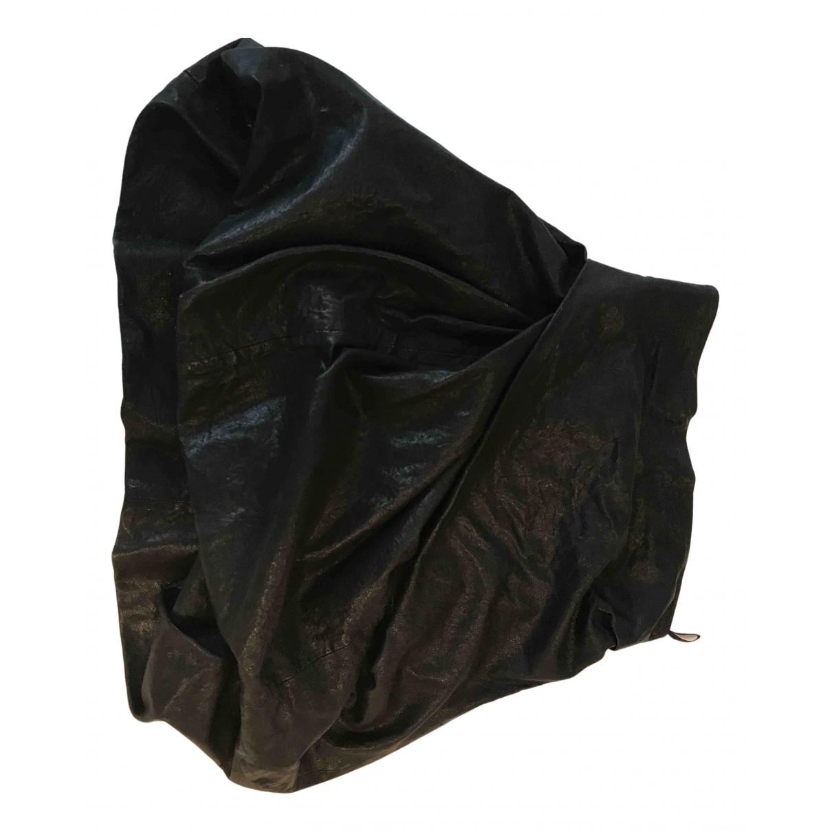 All Saints - Jupe   pour femme en cuir - noir