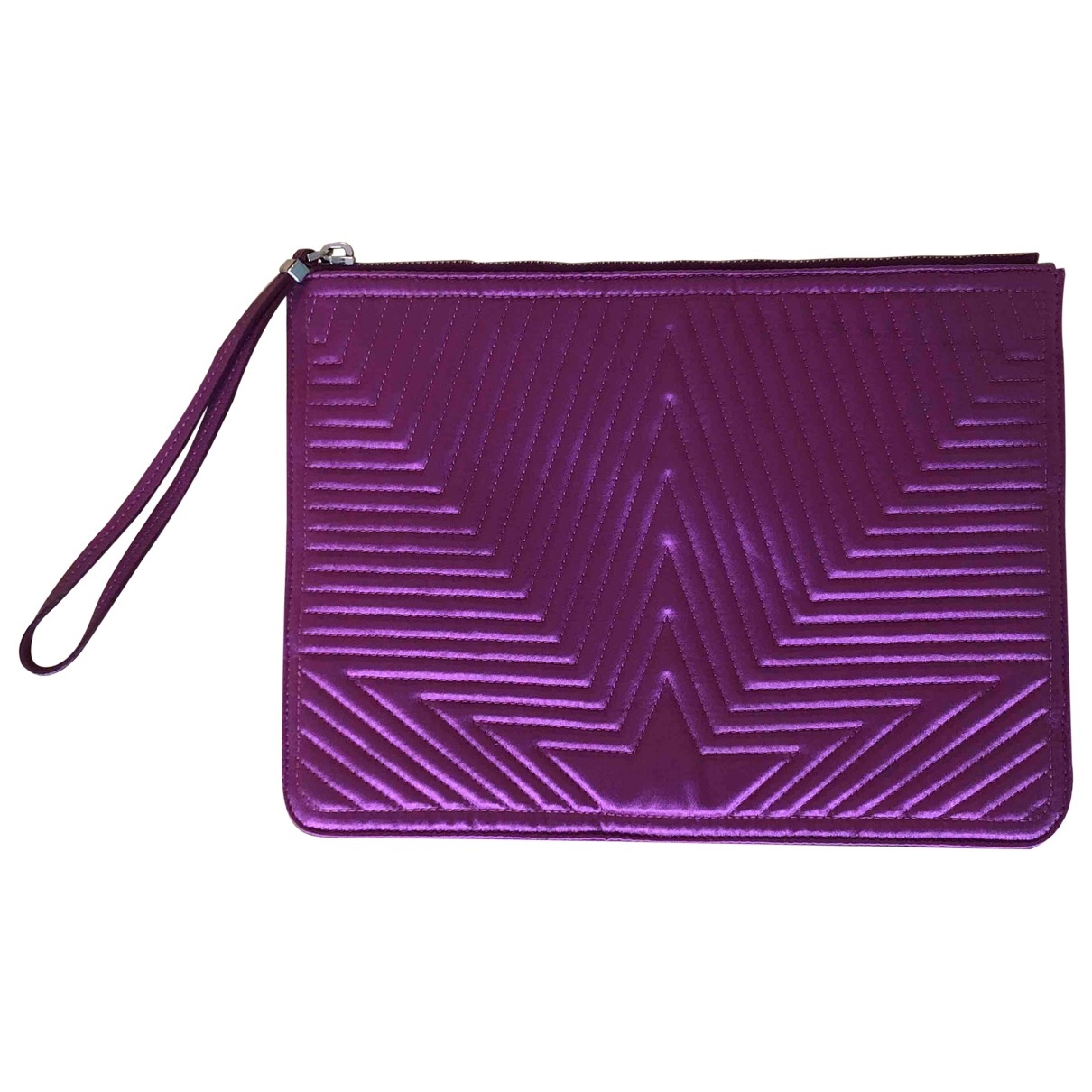Golden Goose \N Clutch in  Lila Polyester