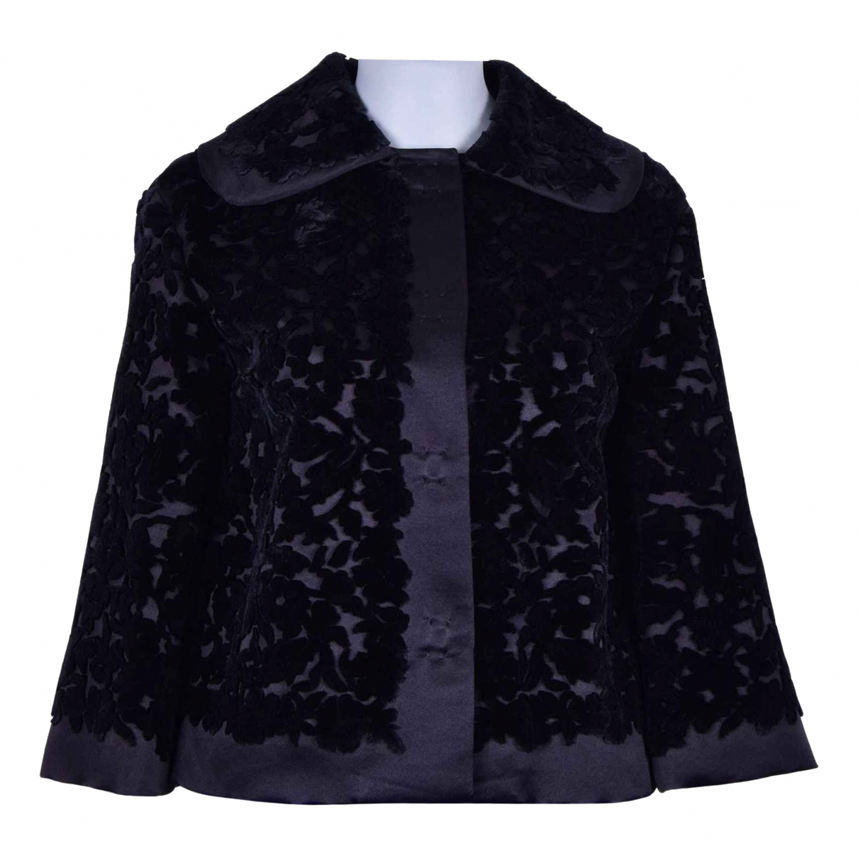 Dolce & Gabbana N Black Silk jacket for Women 40 IT
