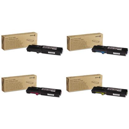 Xerox 106R02225 106R02226 106R02227 106R02228 Original Toner Cartridge Combo High Yield BK/C/M/Y