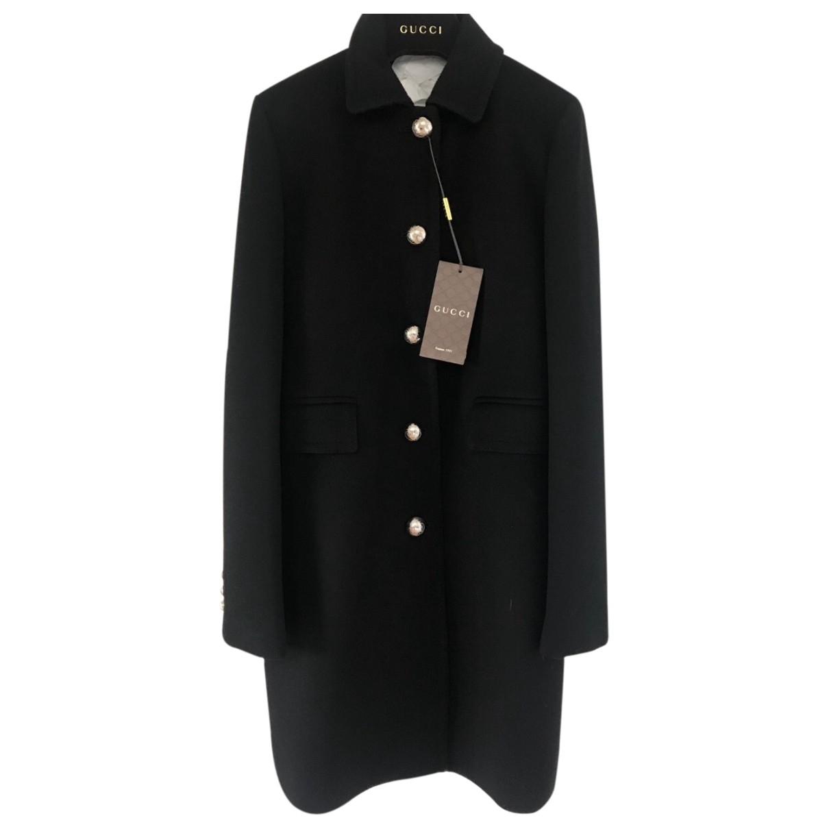 Gucci \N Maentel in  Schwarz Wolle