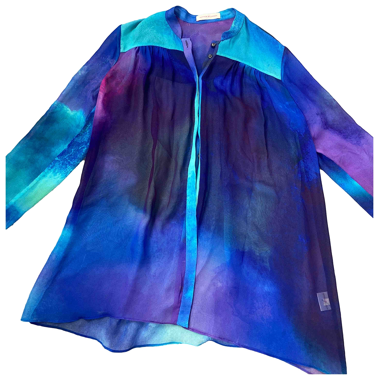 Matthew Williamson \N Multicolour Silk  top for Women 8 UK