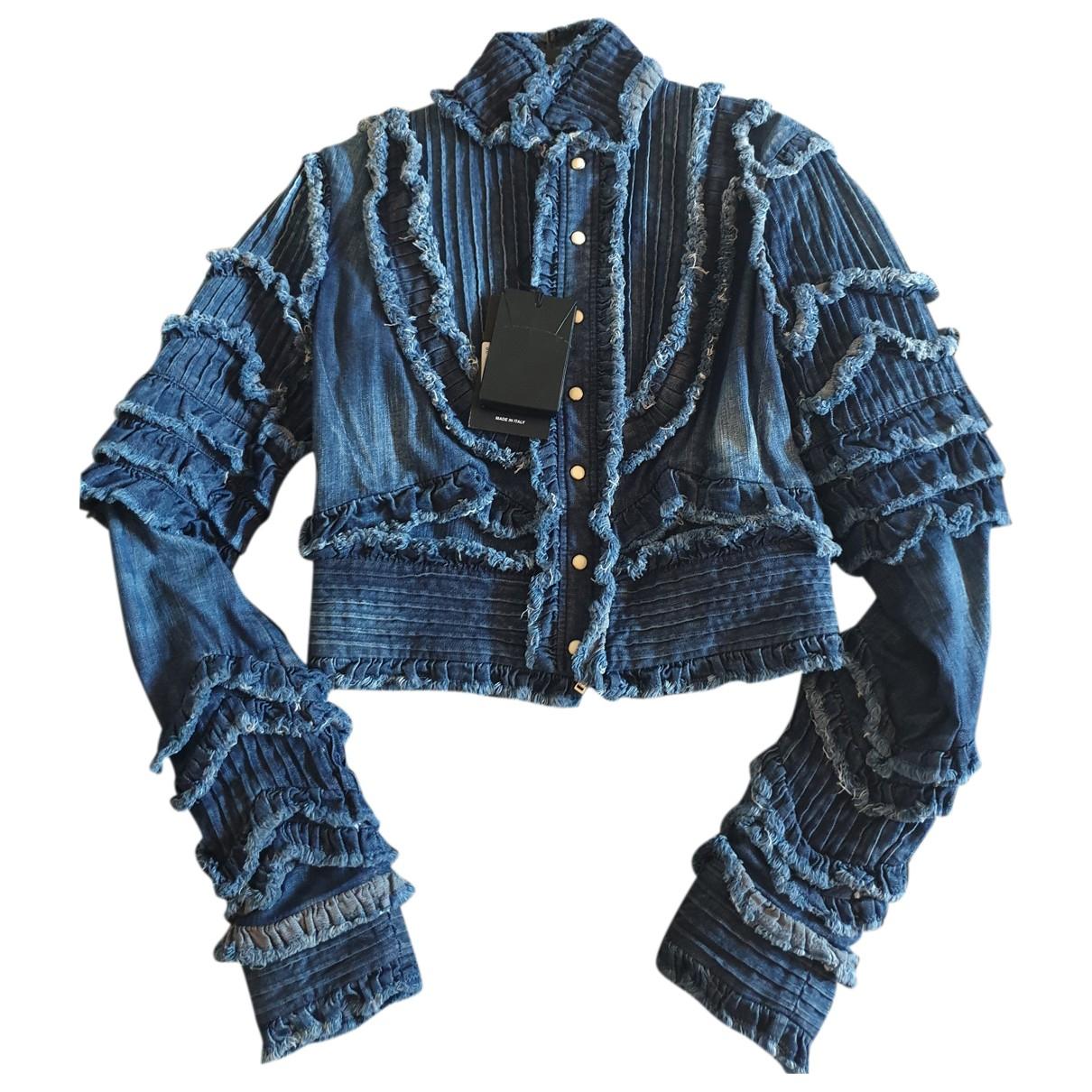 Dsquared2 - Veste   pour femme en denim - bleu