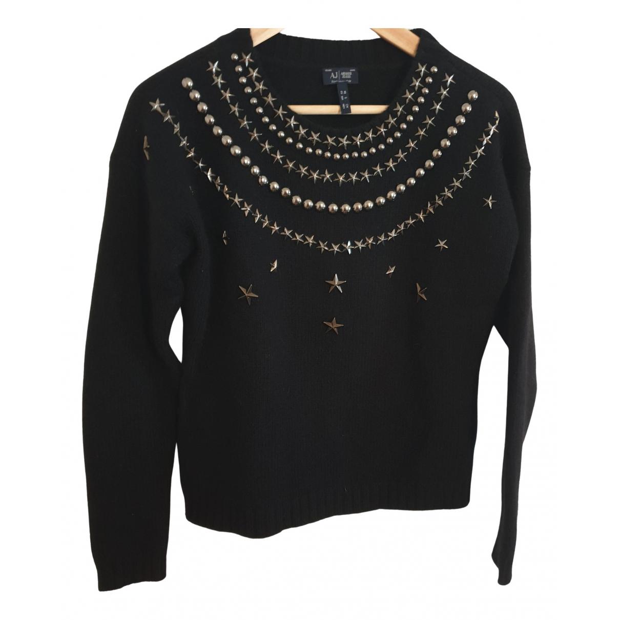 Armani Jeans \N Navy Wool Knitwear for Women S International