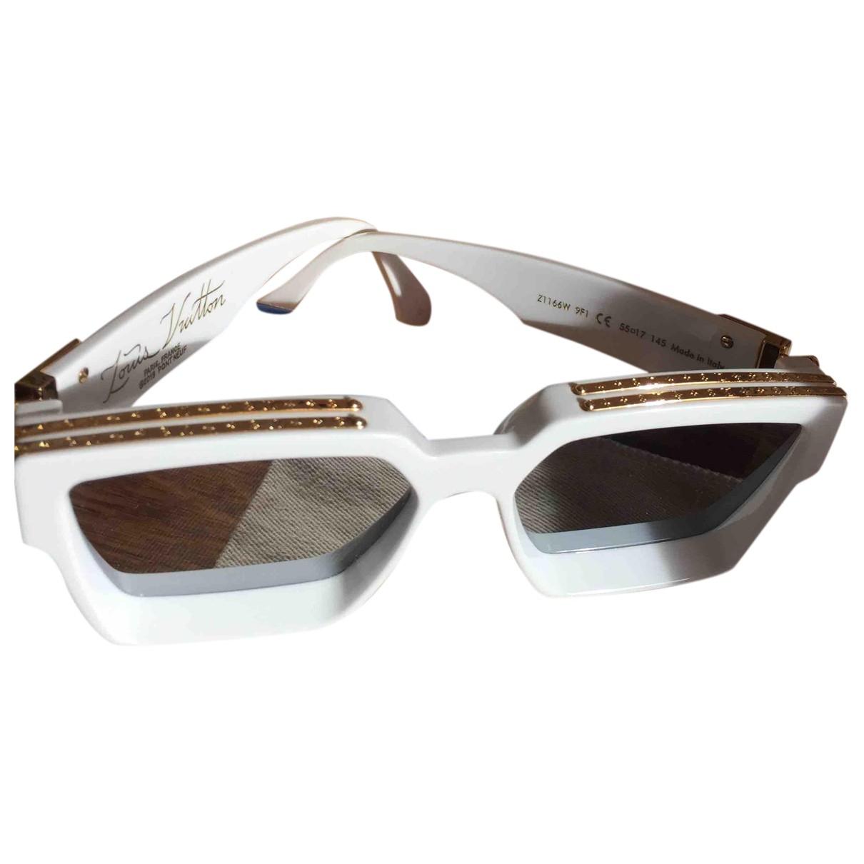 Louis Vuitton Millionaire White Sunglasses for Men N
