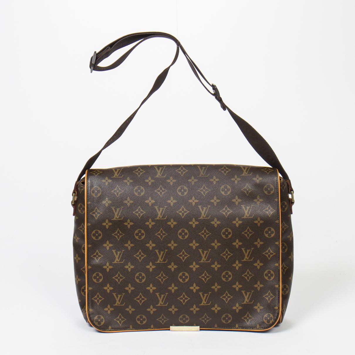 Louis Vuitton \N Brown Cotton handbag for Women \N
