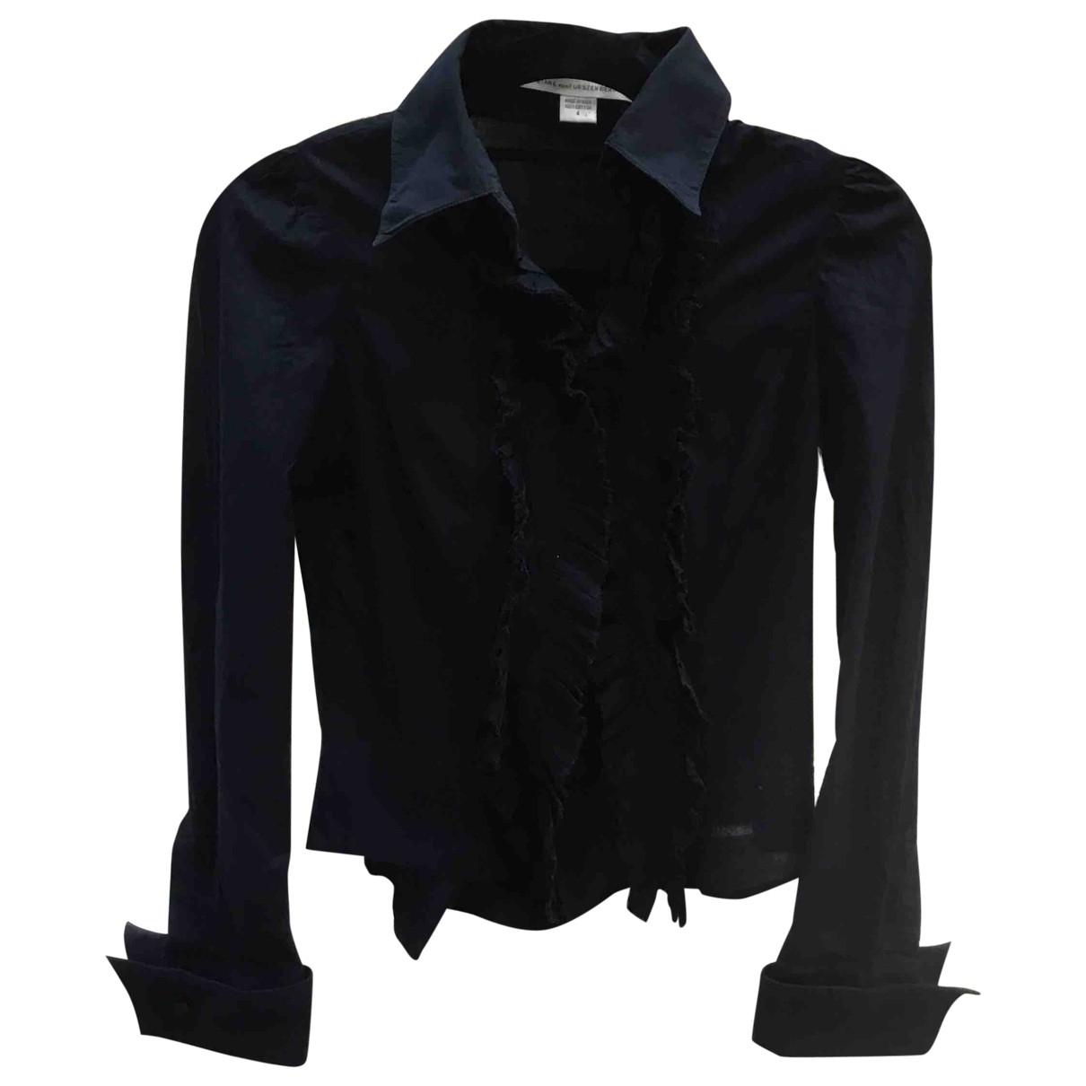 Diane Von Furstenberg \N Blue Cotton  top for Women 4 0-5