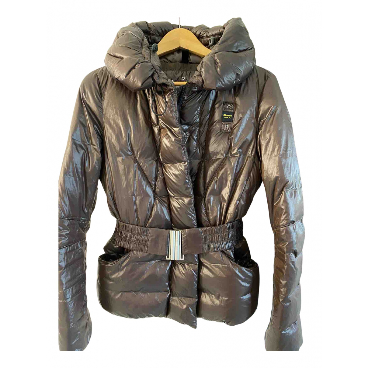 Blauer N Brown jacket for Women 42 IT