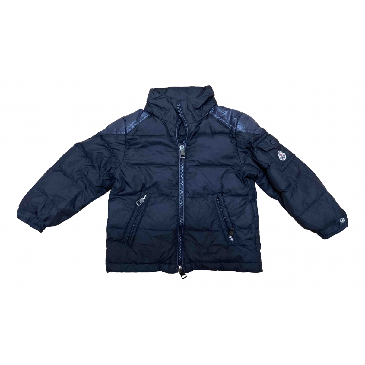 Moncler Classic Blue jacket & coat for Kids 2 years - up to 86cm FR
